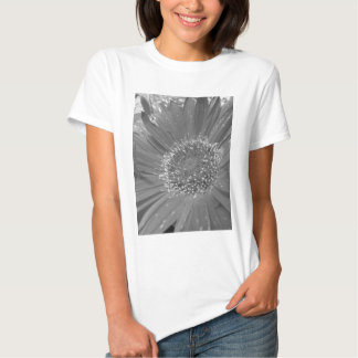 Big Flower without Color Tees
