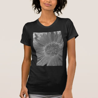 Big Flower without Color T Shirts