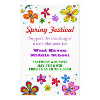 Big Flowers Custom Flyer