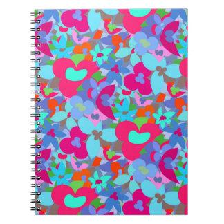 Big flowers notebook
