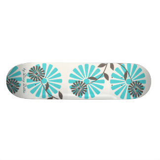 Big Flowers Skateboard