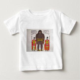 big foot A & 2 romans Baby T-Shirt