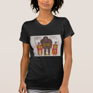 big foot A & 2 romans T-Shirt