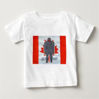 Big foot A, Canada flag Baby T-Shirt