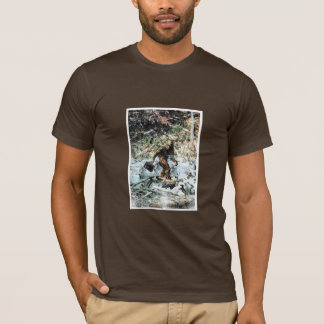 Big Foot Going To Work T-Shirt