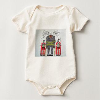 Big foot H & 2 Romans Baby Bodysuit