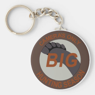 BIG FOOT SASQUATCH CAMERAS ONLY 5 PATCH HUNTING KEY CHAIN