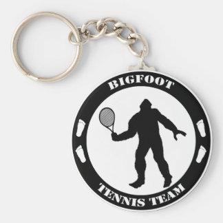 Big Foot Tennis Key Chains