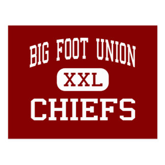 Big Foot Union - Chiefs - High - Walworth Postcard