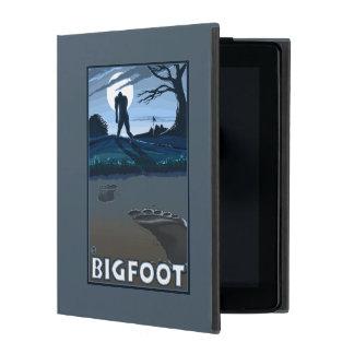 Big Foot walking through Golf Course Case For iPad