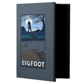 Big Foot walking through Golf Course iPad Air Covers