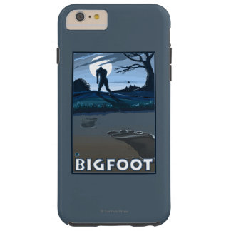 Big Foot walking through Golf Course Tough iPhone 6 Plus Case