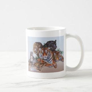 Big Game Cats Mug
