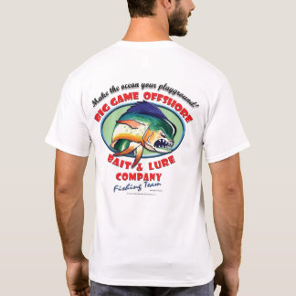 "Big Game Logo ""Fishing Team"" T-Shirt"