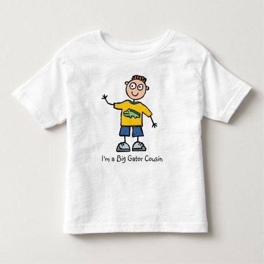 Big Gator Cousin - boy Toddler T-Shirt