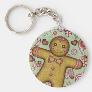 Big Gingerbread Keychain