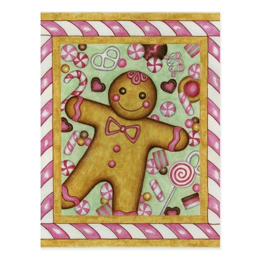 Big Gingerbread Postcard