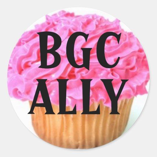 Big Girl Club Ally Classic Round Sticker