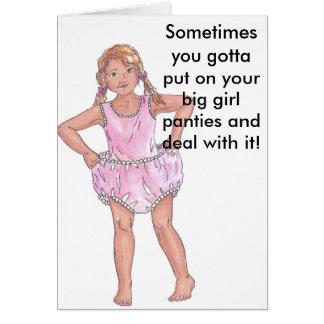 Big Girl Panties Card