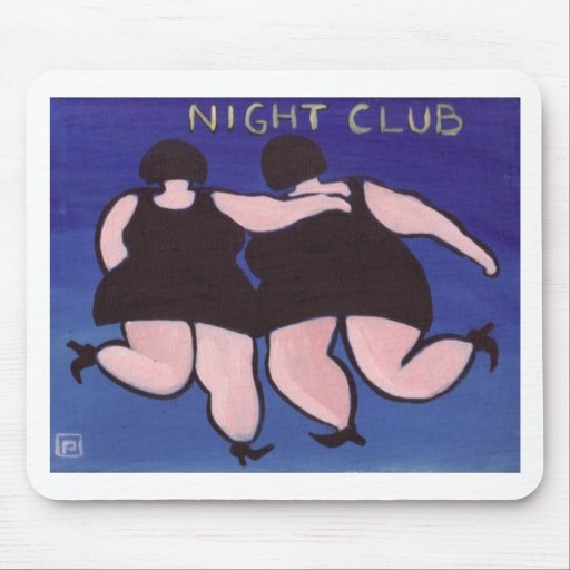 BIG GIRLS NIGHT OUT MOUSE PADS