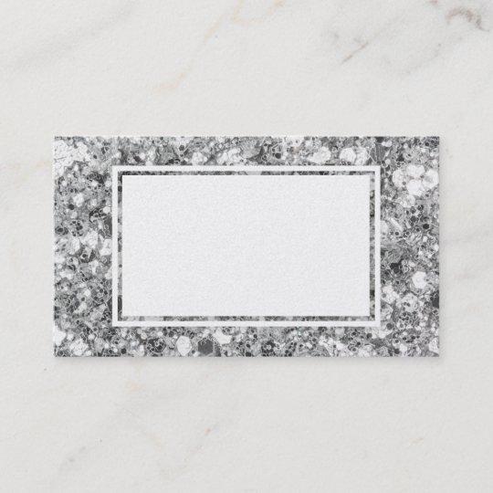Big glitter sparkle silver blank business cards zazzle big glitter sparkle silver blank business cards colourmoves