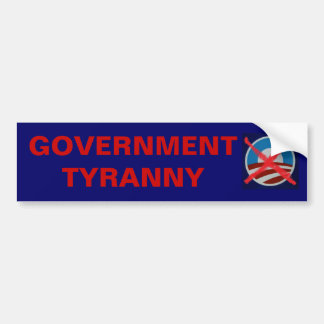 Big Government killed the US Constitution! Bumper Sticker