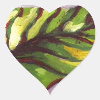big green leaf stickers
