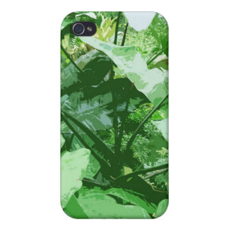 big green leafy plant covers for iPhone 4