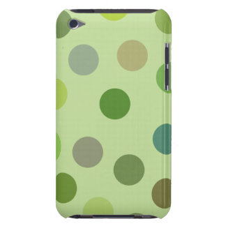 Big Green Polka Dots iPod Touch Case