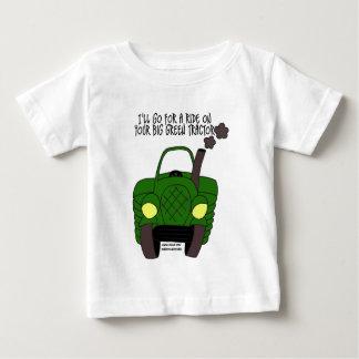 Big Green Tractor Baby T-Shirt