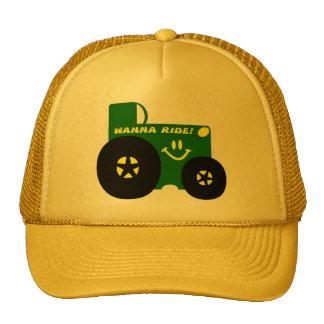 BIG GREEN TRACTOR MESH HAT