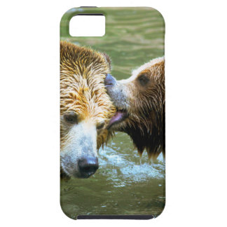 Big Grizzly Bear Kiss iPhone 5/5S Covers