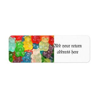 Big gummy bears pattern for big & small,candy,fun,