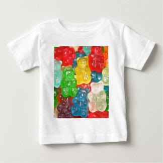 Big gummy bears pattern for big & small,candy,fun baby T-Shirt