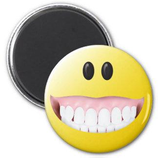 Big Gums Smiley Face Magnets