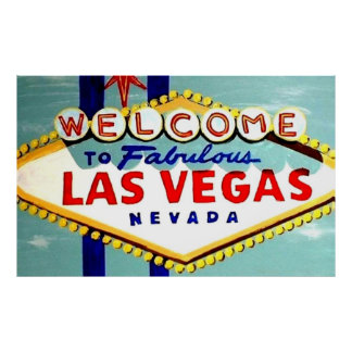 BIG HAND PAINTED LAS VEGAS SIGN DAYTIME