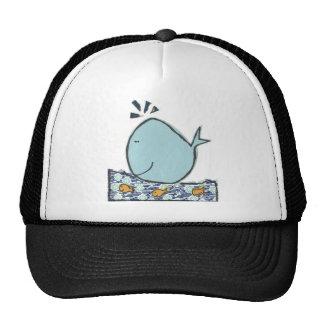 Big Happy Whale Cap