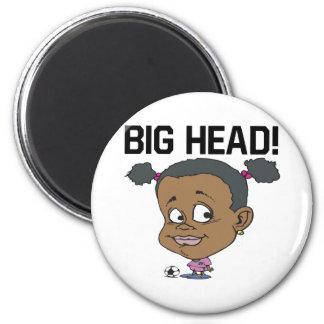 Big Head 6 Cm Round Magnet