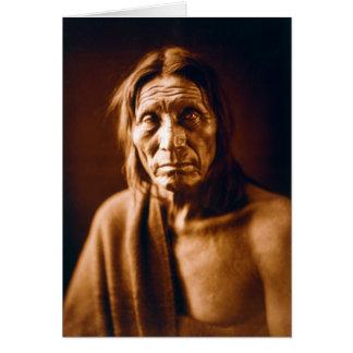 Big Head (Native American) Card