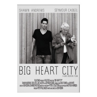 Big Heart City Limited Edition Official Poster