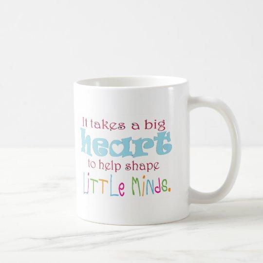 Big Heart: Counsellor:Mentor:Teacher Coffee Mug