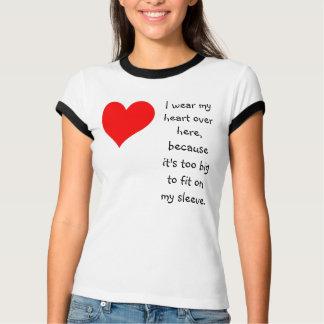 Big hearted tee shirt