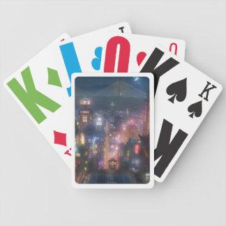 Big Hero 6 Night Sky Bicycle Playing Cards