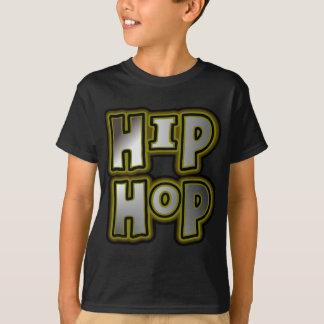 Big Hip Hop Graffiti Multi-Color, Metal Effects T-Shirt