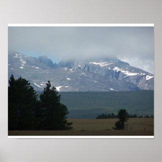 Big Horn Cloud Print