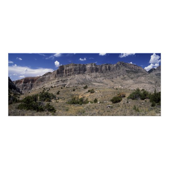 Big Horn Mountains Panoramic 1 Poster