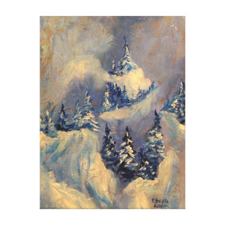 Big Horn Peak 2009 Canvas Print