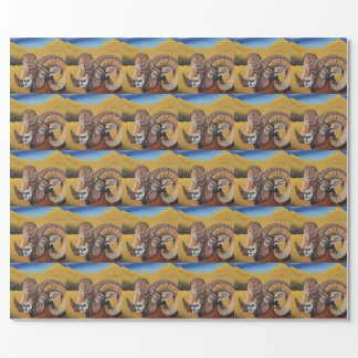 Big Horn Sheep Gift Wrapping Paper
