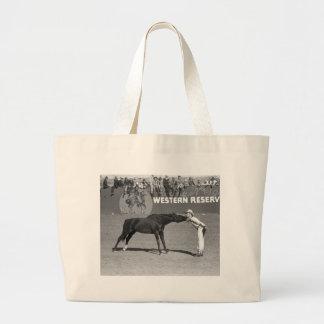 Big Horse Kiss, 1940 Jumbo Tote Bag