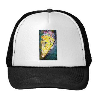 big ice cream mesh hat
